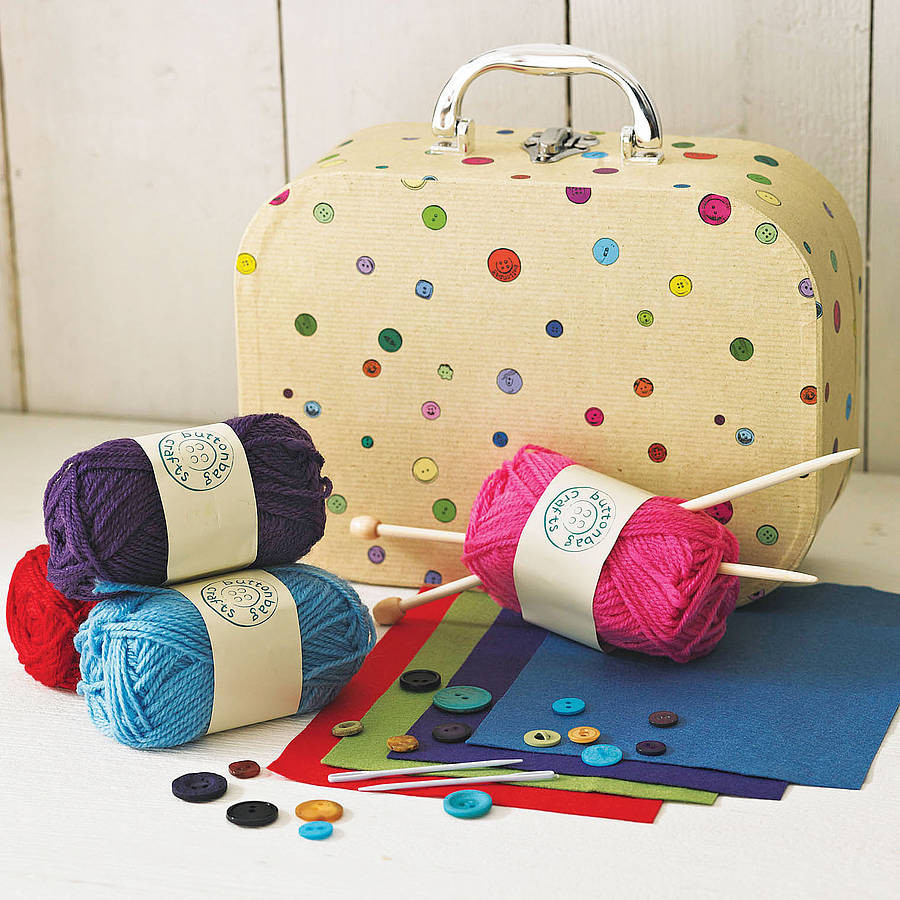 Knitting Kits New Learn to Knit Kit by Crafts4kids Of Perfect 44 Images Knitting Kits