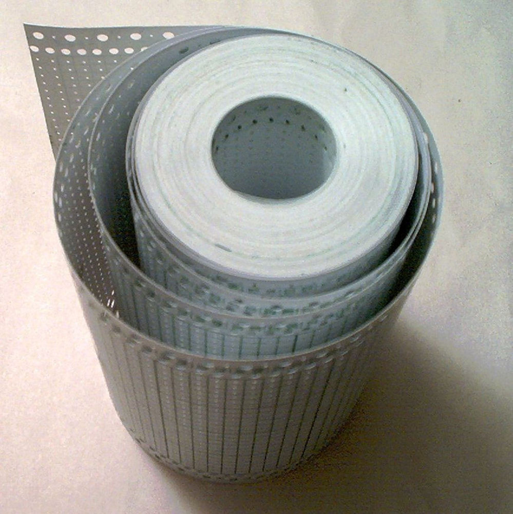 Blank Punchcard roll 54 Ft 17 for Brother Singer Knitting