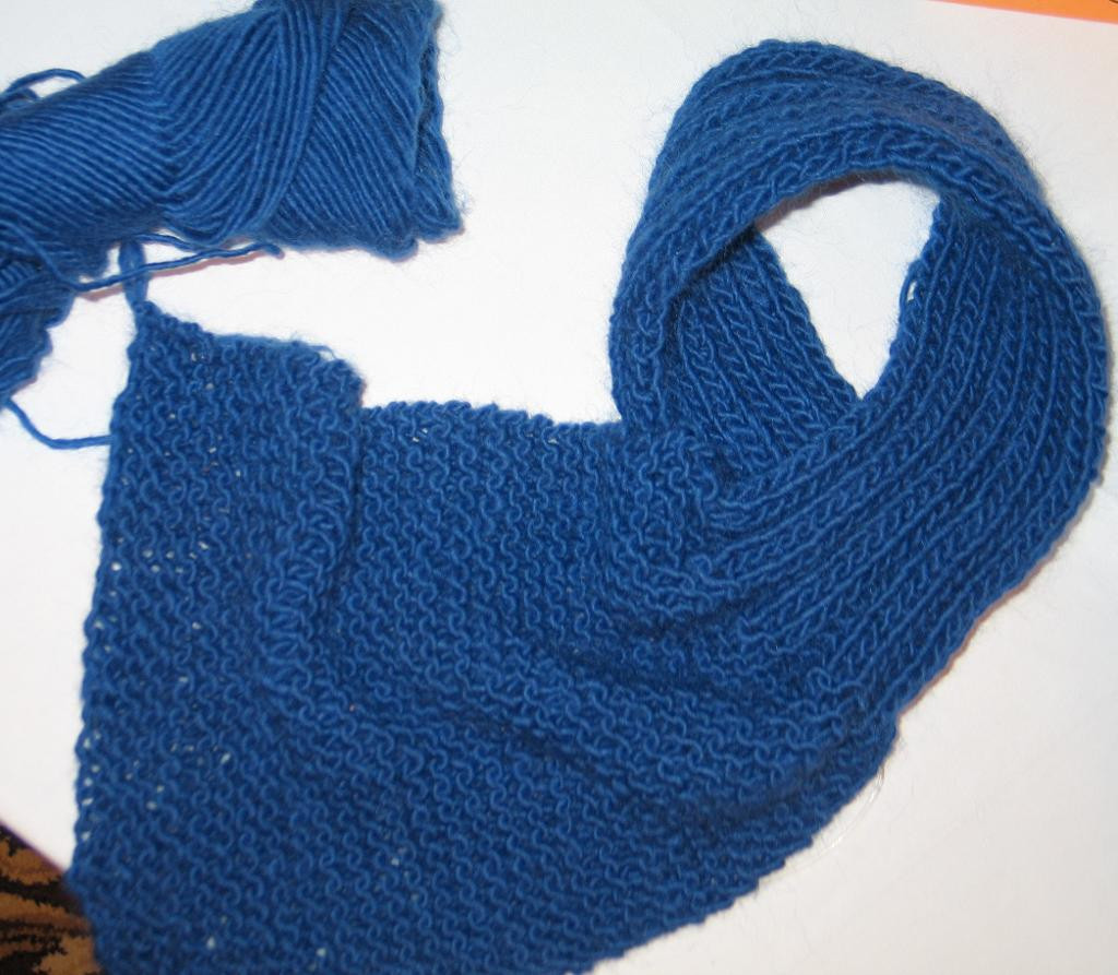 Knit Scarf for Beginners by ity Sticks Craftsy