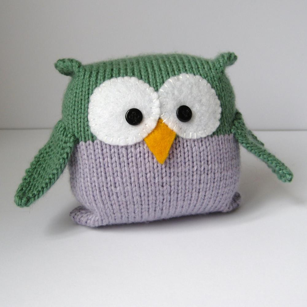 Knitting Patterns for Beginners Elegant tooley Owl toy Knitting Pattern On Luulla Of Superb 47 Pics Knitting Patterns for Beginners