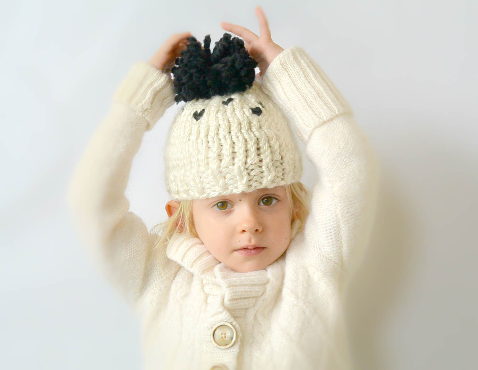 Everyday Chunky Knit Toddler Hat Pattern – Mama In A Stitch