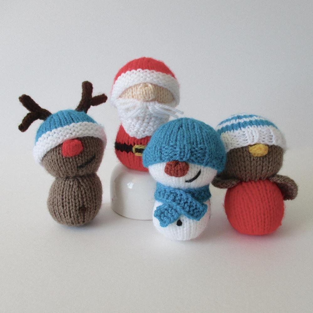 Knitting Patterns toys Fresh Dinky Christmas toys Knitting Pattern by Amanda Berry Of Amazing 41 Models Knitting Patterns toys