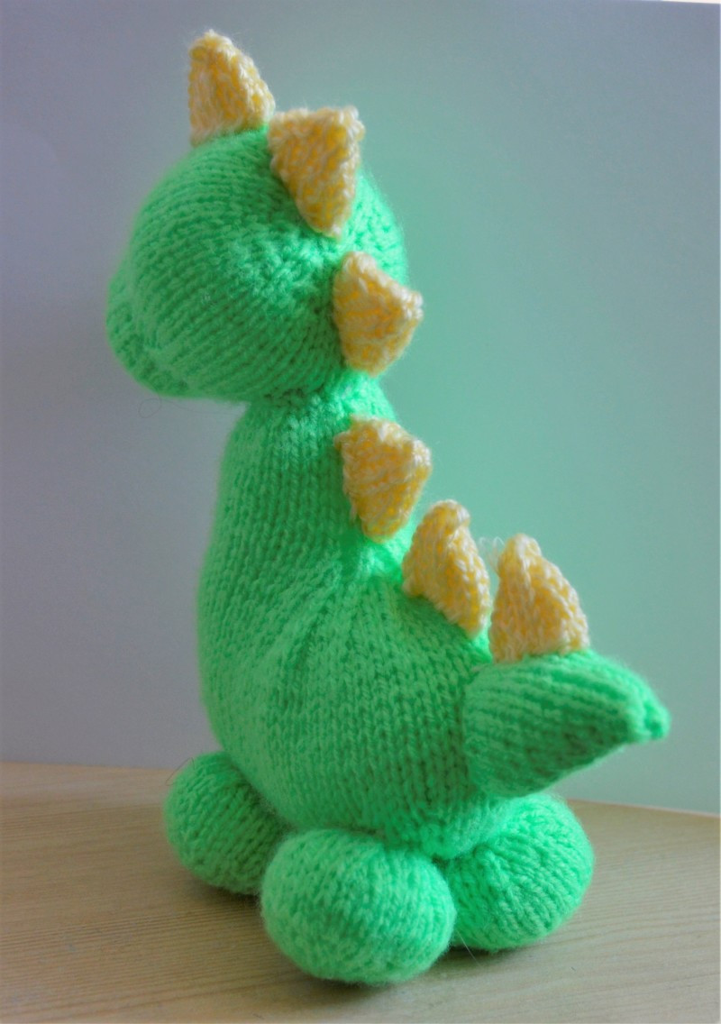 Knitting Patterns toys Inspirational Dinky Dino Knitting Pattern • Knitting by Post Of Amazing 41 Models Knitting Patterns toys