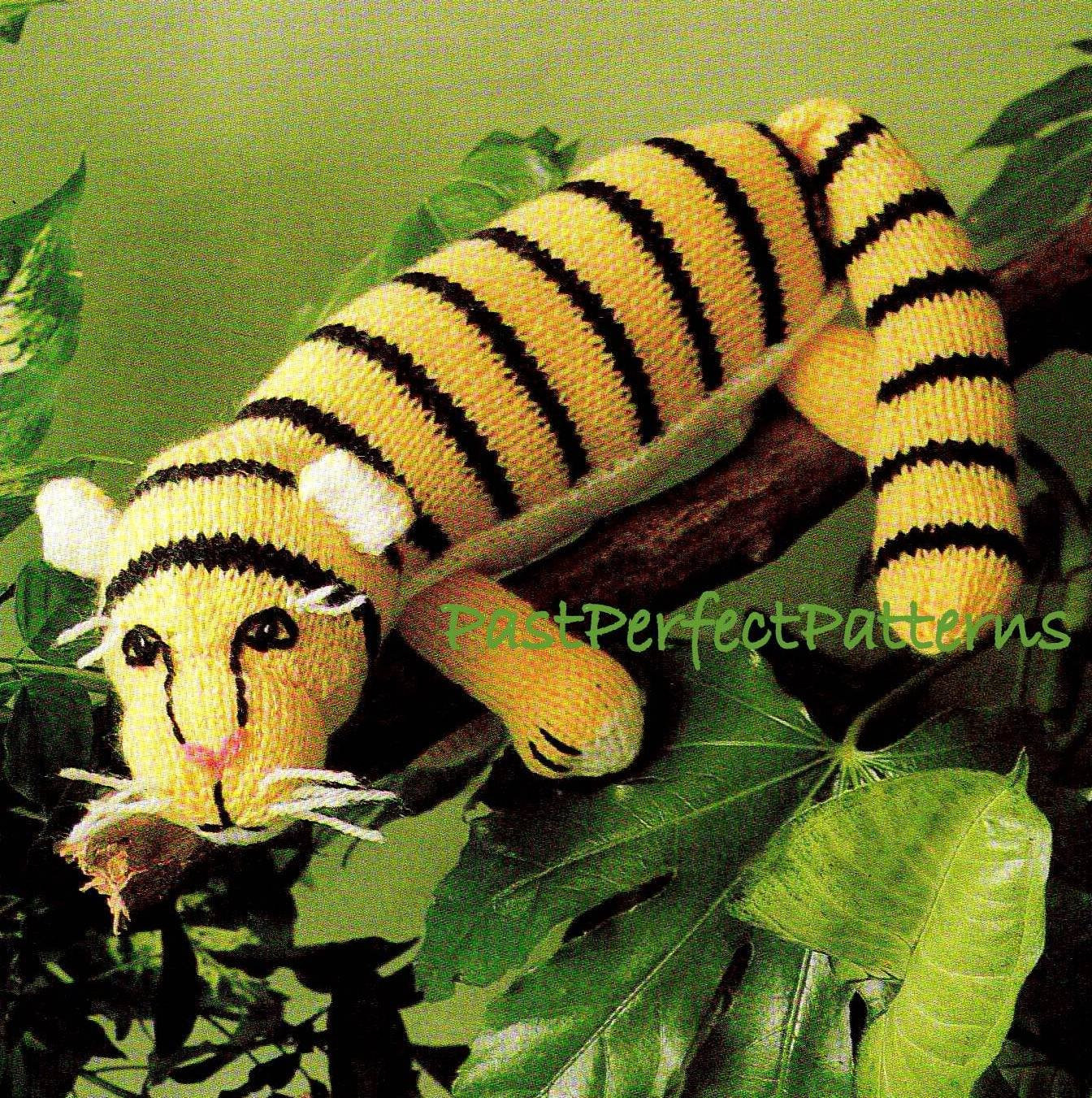 Knitting Patterns toys New Digital Download Pdf Vintage Knitting Pattern Tiger toy Zoo Of Amazing 41 Models Knitting Patterns toys