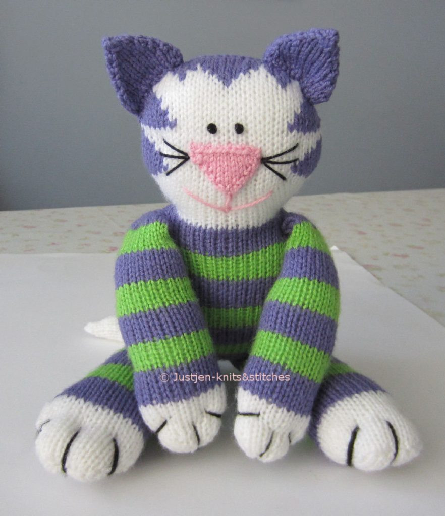 Knitting Patterns toys New Free Cat Patterns ⋆ Knitting Bee 24 Free Knitting Patterns Of Amazing 41 Models Knitting Patterns toys