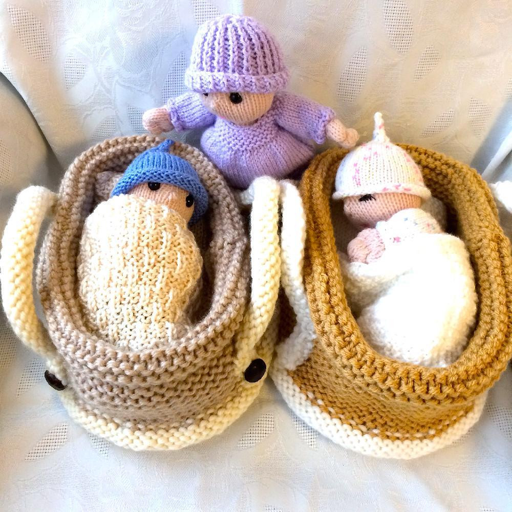 Knitting Patterns toys Unique Baby Doll In Crib Knitting Pattern by Gypsycream Of Amazing 41 Models Knitting Patterns toys