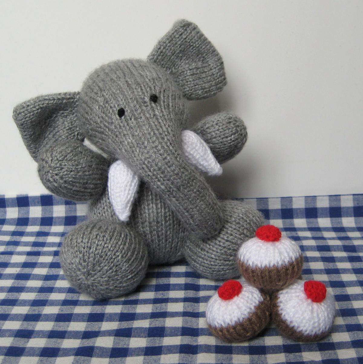 Knitting Patterns toys Unique Bloomsbury Elephant toy Knitting Pattern On Luulla Of Amazing 41 Models Knitting Patterns toys
