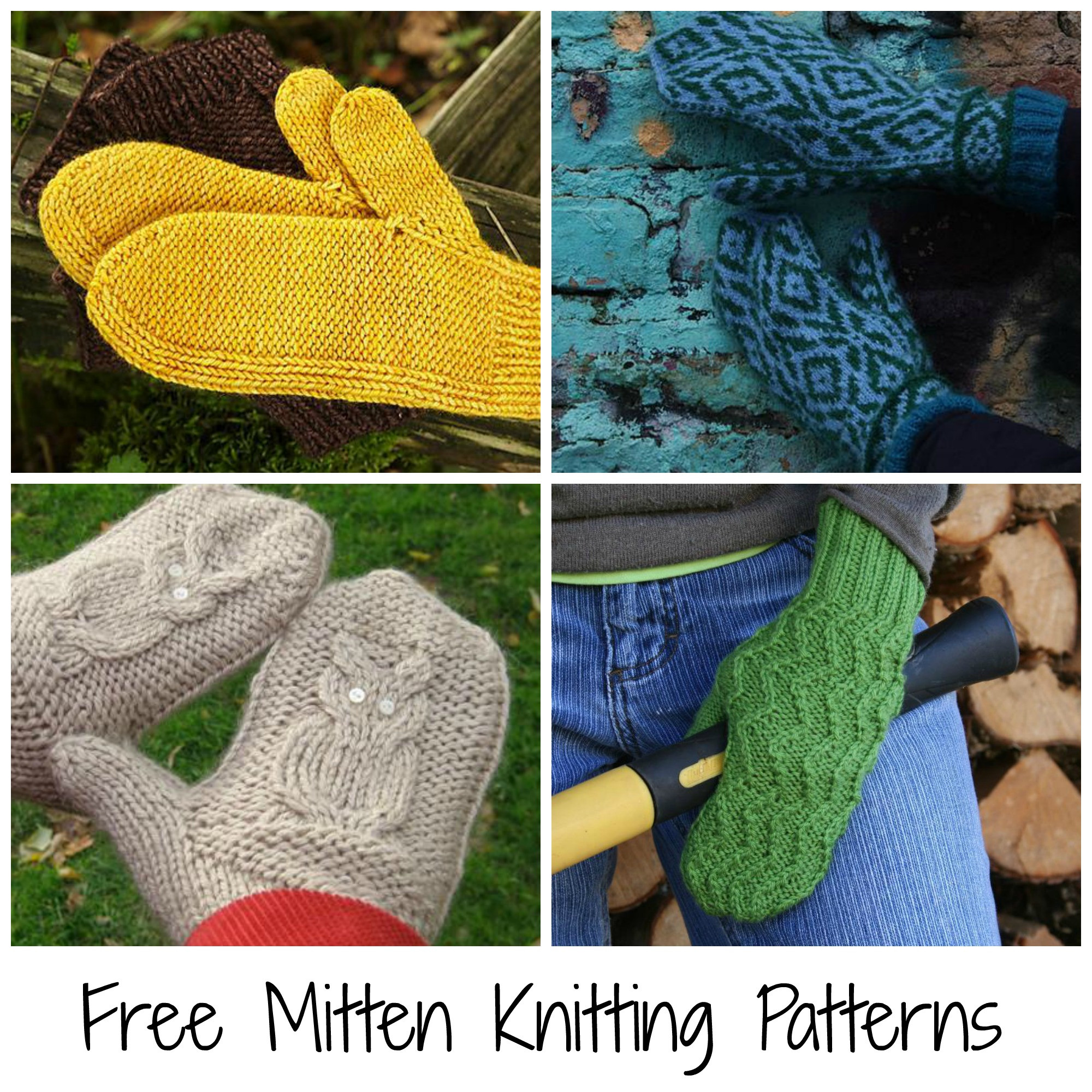 Knitting Projects Best Of 10 Free Mitten Patterns to Knit Of Top 45 Ideas Knitting Projects