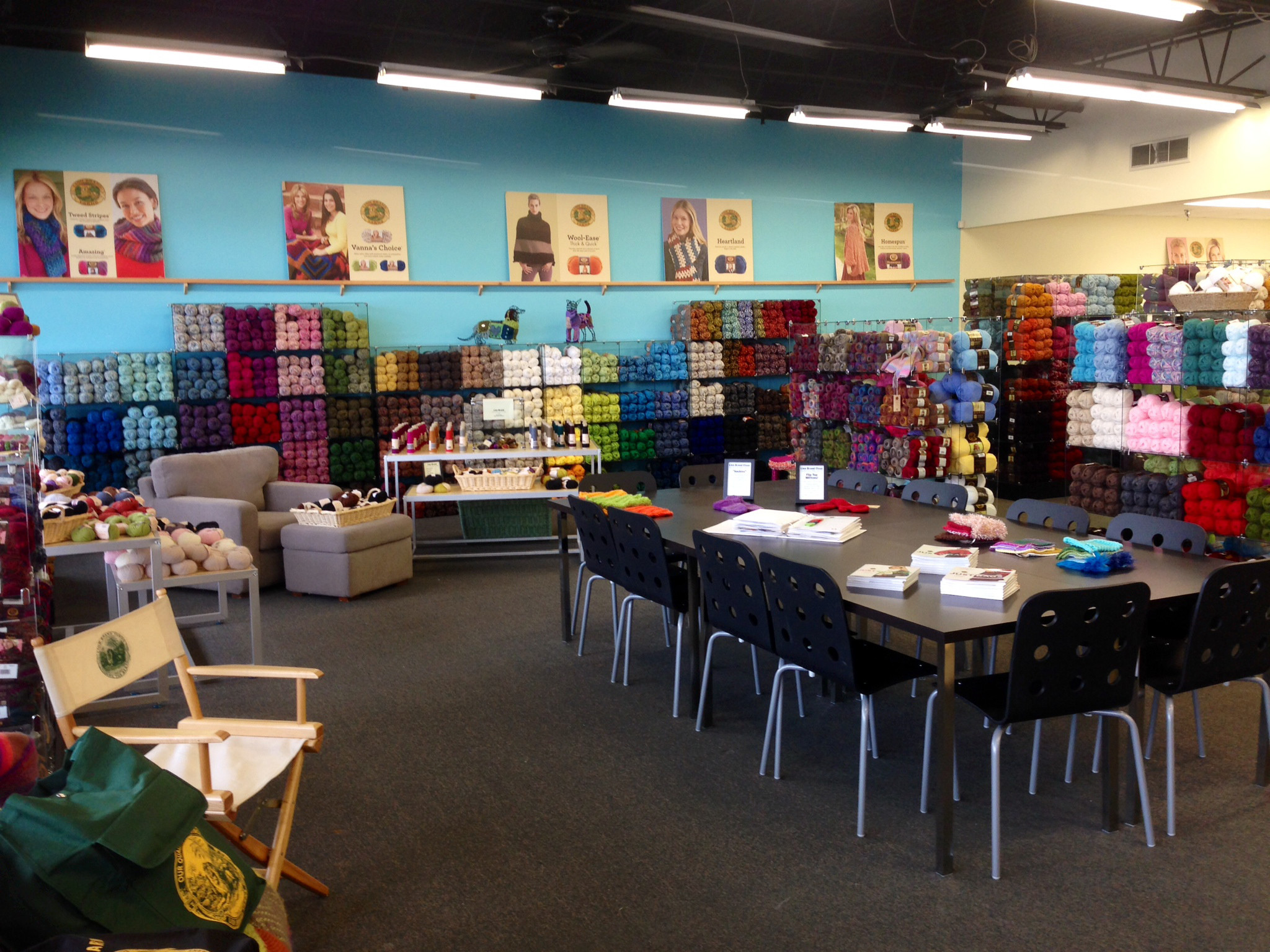 Knitting Shop Elegant Lion Brand Yarn Pany Opens New Retail Store In Upstate Of Awesome 50 Ideas Knitting Shop