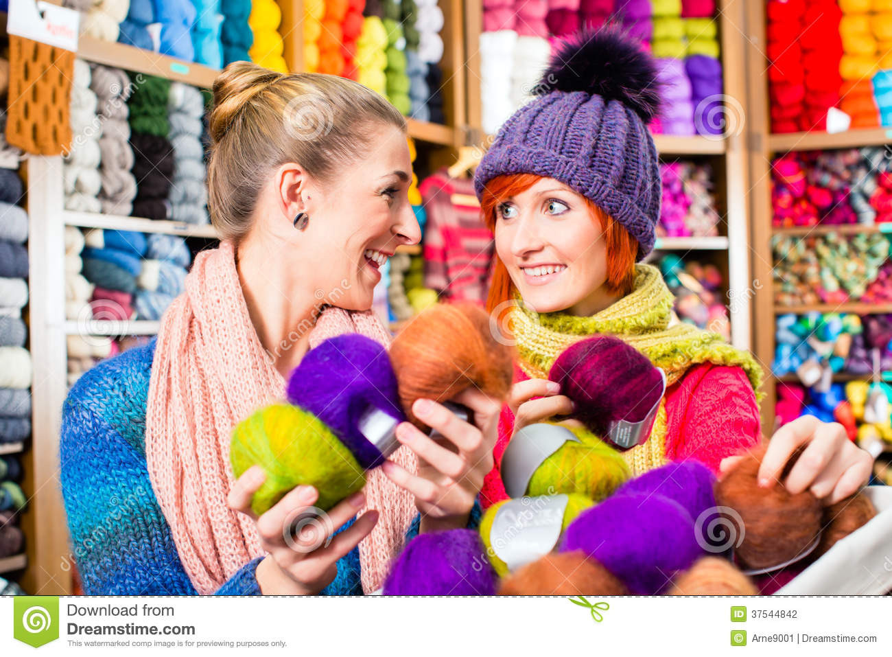 Knitting Shop Lovely Young Women In Knitting Shop Stock Image Of Awesome 50 Ideas Knitting Shop