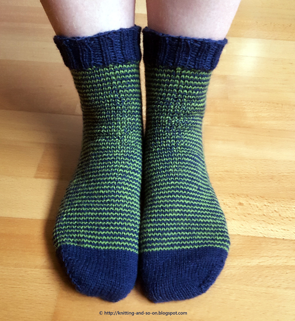Knitting and so on An Idea for Knitted Socks