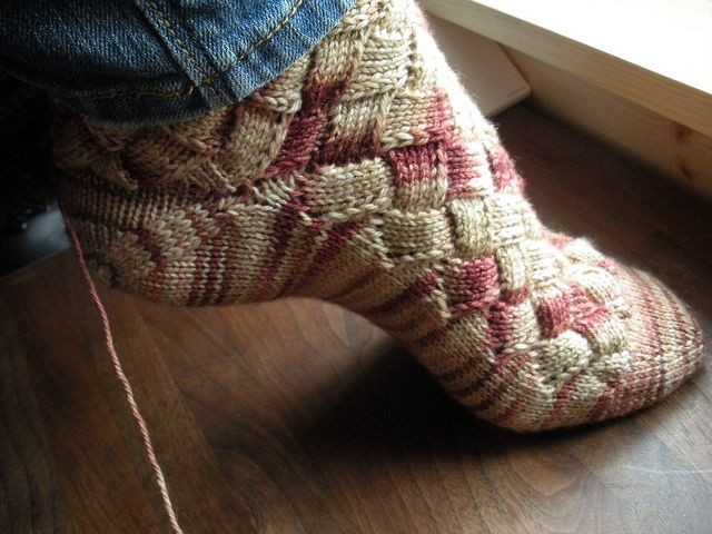 Knitting socks Elegant Diy Rainbow Color Patch Entrelac Knitting socks with Patterns Of Gorgeous 44 Pictures Knitting socks