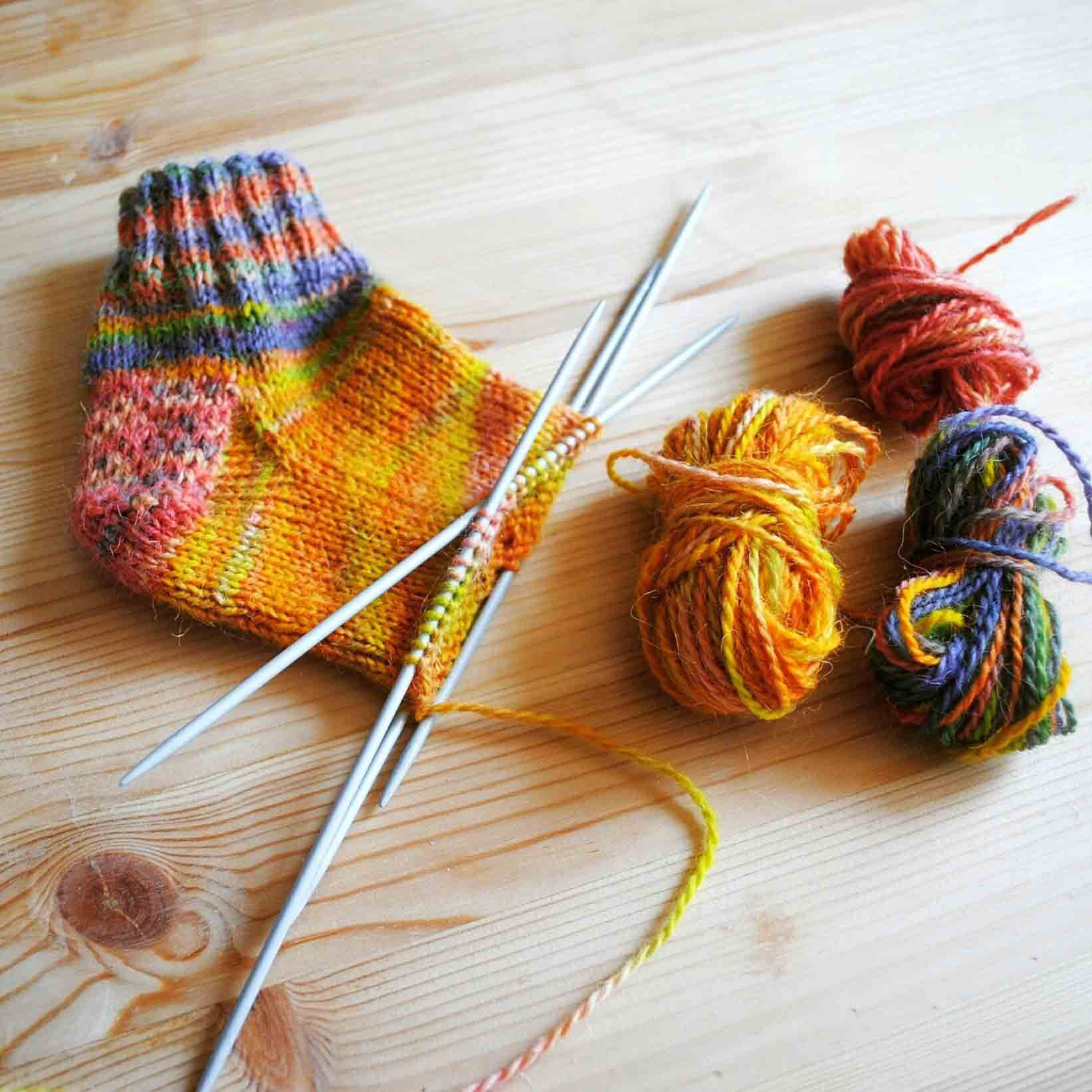 Knitting socks New Knit A sock with A Step by Step Practice Pattern Of Gorgeous 44 Pictures Knitting socks