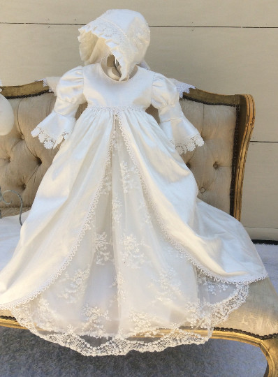 Lace Christening Dress Beautiful On Sale Vintage 2017 Infant Christening Gown White Ivory Of Innovative 42 Images Lace Christening Dress