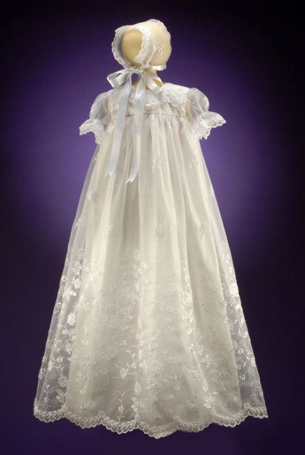 Lace Christening Dress Inspirational Long organza Eyelet Lace Christening Gown and Hat Of Innovative 42 Images Lace Christening Dress
