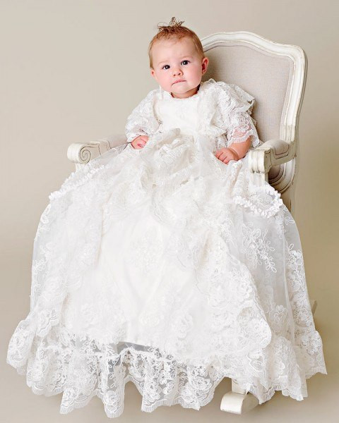 Lace Christening Dress Lovely 2016 Amazing Luxury Lace White Ivory Blessing Heirloom Of Innovative 42 Images Lace Christening Dress