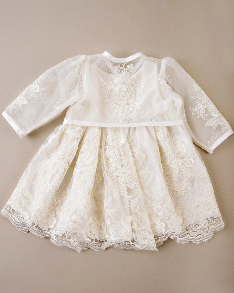 Lace Christening Dress Luxury Becca Lace Christening Dress with Jacket Of Innovative 42 Images Lace Christening Dress