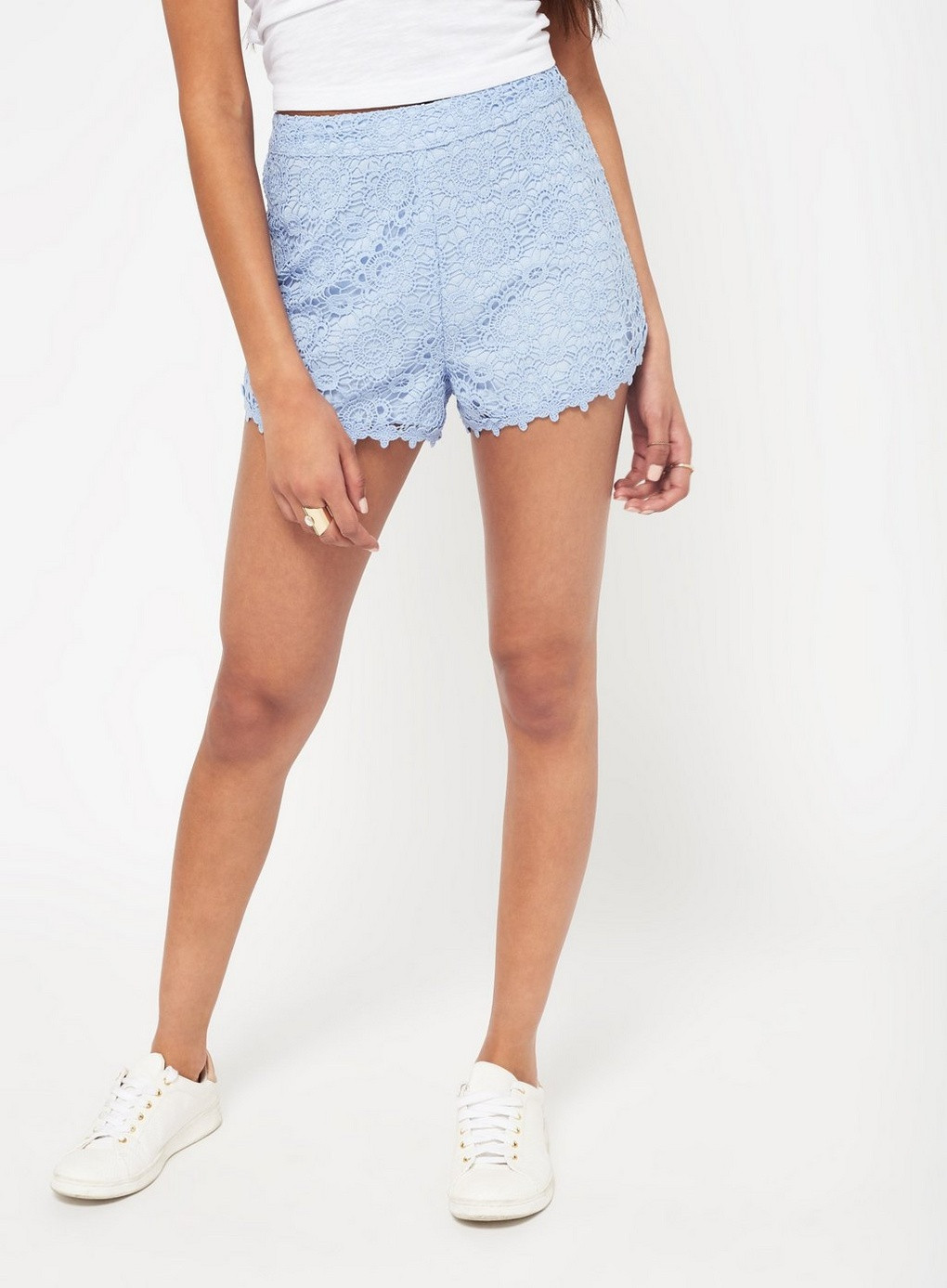 Lace Crochet Shorts Inspirational Blue Crochet Lace Shorts View All Clothing Miss Of Wonderful 49 Images Lace Crochet Shorts