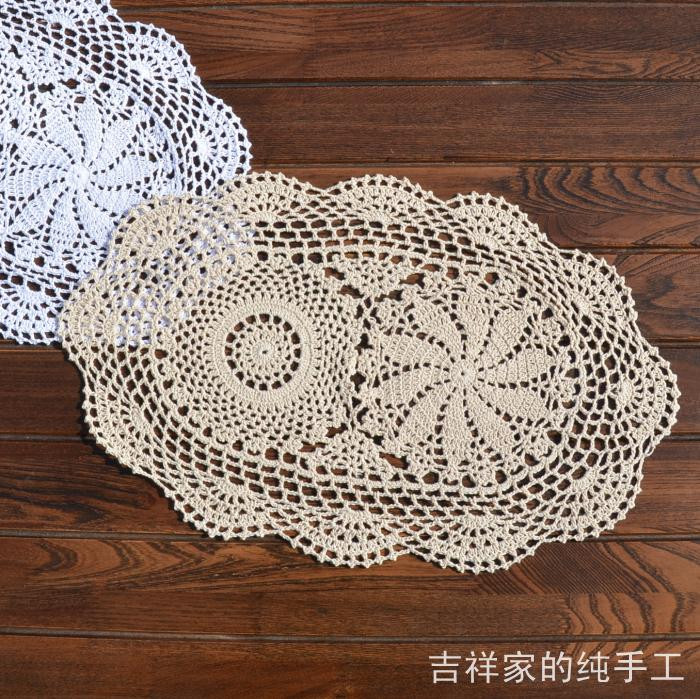 Lace Doilies Fabric Awesome Popular Oval Table Pad Buy Cheap Oval Table Pad Lots From Of Perfect 47 Ideas Lace Doilies Fabric