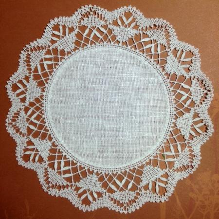 Lace Doilies Fabric Inspirational Freestanding Bobbin Lace Round Doily with Fabric Center Of Perfect 47 Ideas Lace Doilies Fabric