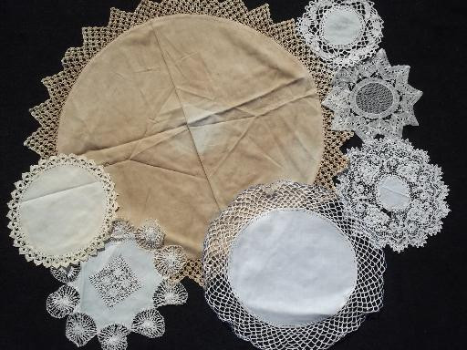 Lace Doilies Fabric Lovely 80 Vintage Doilies Cotton Fabric Doily Table Mats W Of Perfect 47 Ideas Lace Doilies Fabric