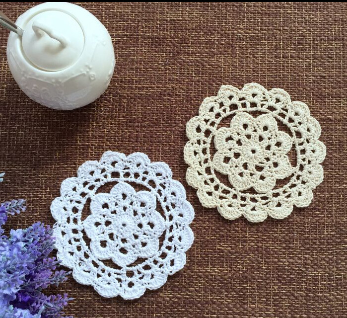 Lace Doilies Fabric New Line Buy wholesale Crocheted Pot Holders From China Of Perfect 47 Ideas Lace Doilies Fabric