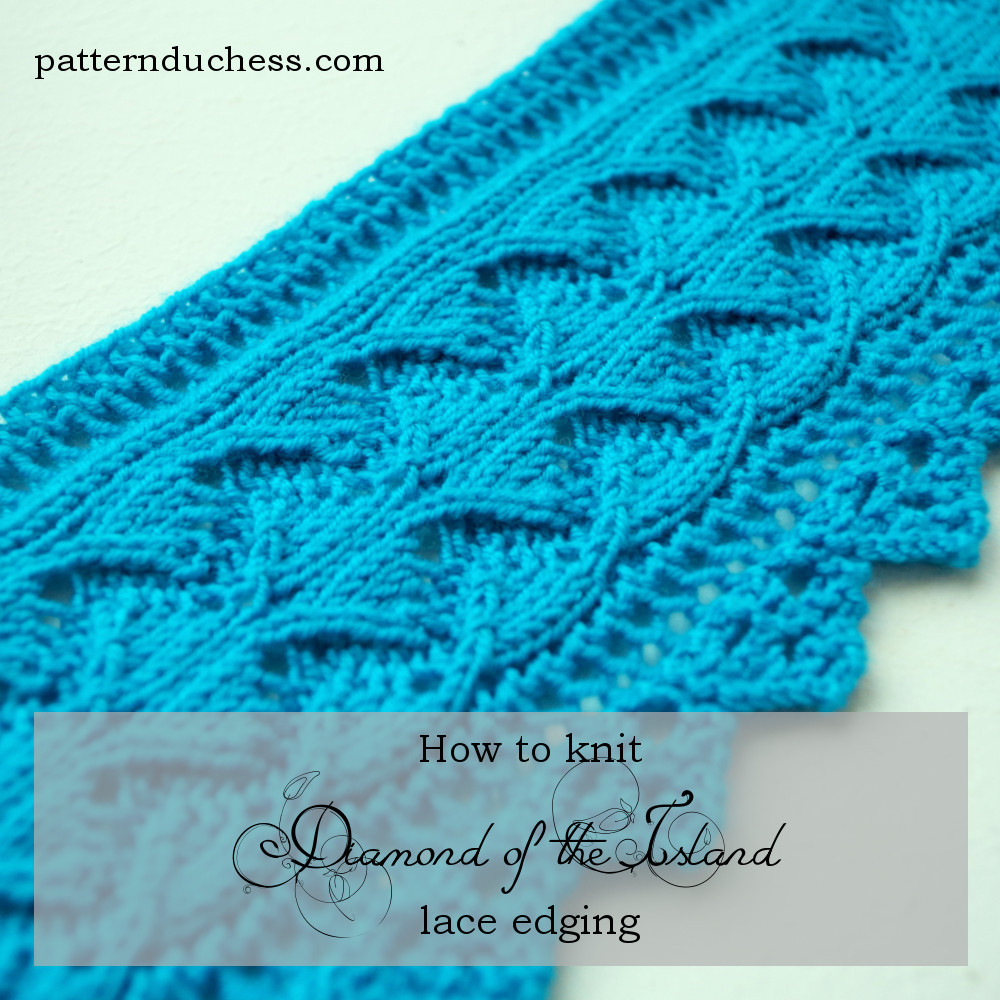 """Lace Edging Best Of """"diamond Of the island"""" Lace Edging Pattern Of Incredible 44 Ideas Lace Edging"""