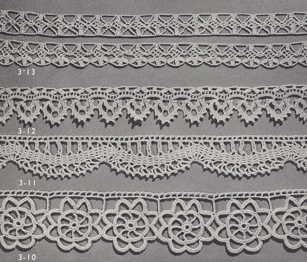 Lace Edging Best Of Vintage Crochet Pattern to Make 4 Special Lace Edging Of Incredible 44 Ideas Lace Edging