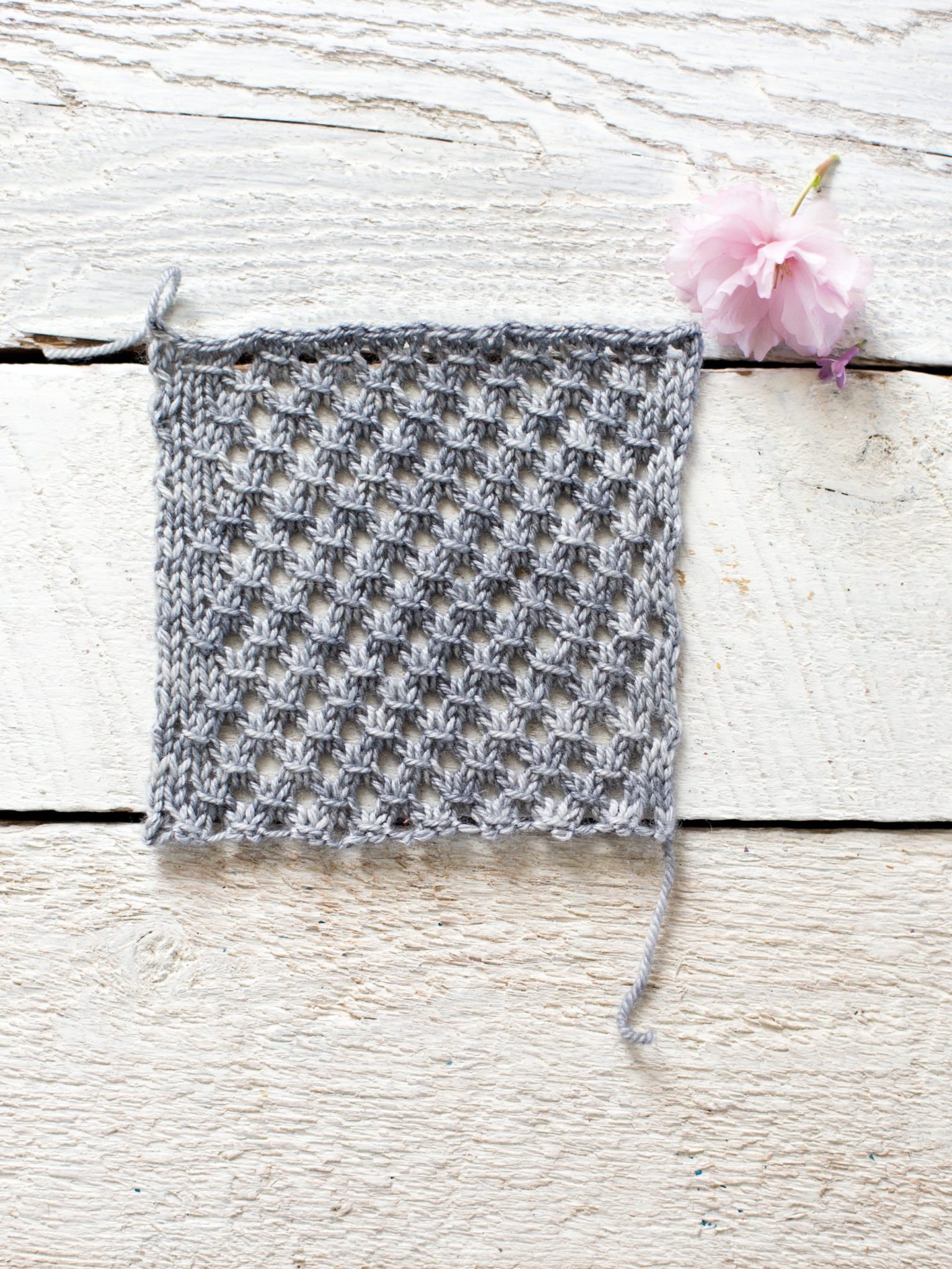 How To Make An Easy Lace Knit Shawl Pattern Flax & Twine