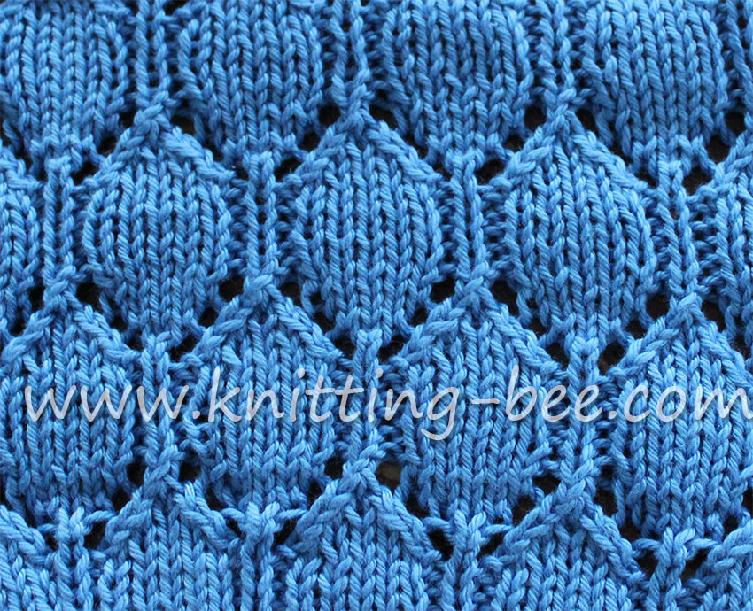 Lace Knitting Patterns Unique Oval Lace Pattern Free Knitting Stitch ⋆ Knitting Bee Of Innovative 48 Pics Lace Knitting Patterns