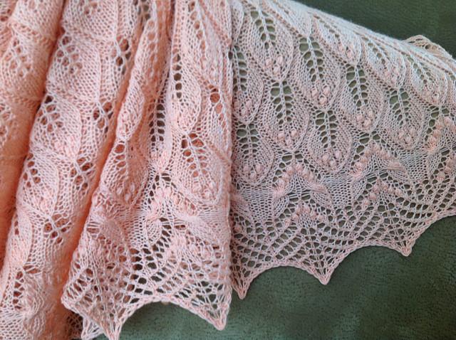 Lace Knitting Patterns Unique Wavy Leaves Knitted Lace Shawl [free Knitting Pattern] Of Innovative 48 Pics Lace Knitting Patterns