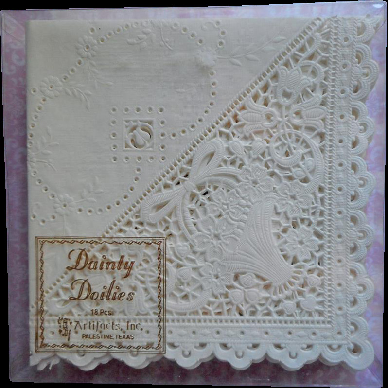 Lace Paper Napkins Elegant Doily Napkins Lace Paper Vintage Set 14 Hankie Folders Of Contemporary 49 Images Lace Paper Napkins