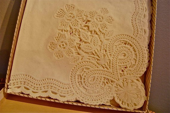 Lace Paper Napkins Fresh 20 Vintage Freund Mayer Devon Lace Doily Paper Napkins Of Contemporary 49 Images Lace Paper Napkins