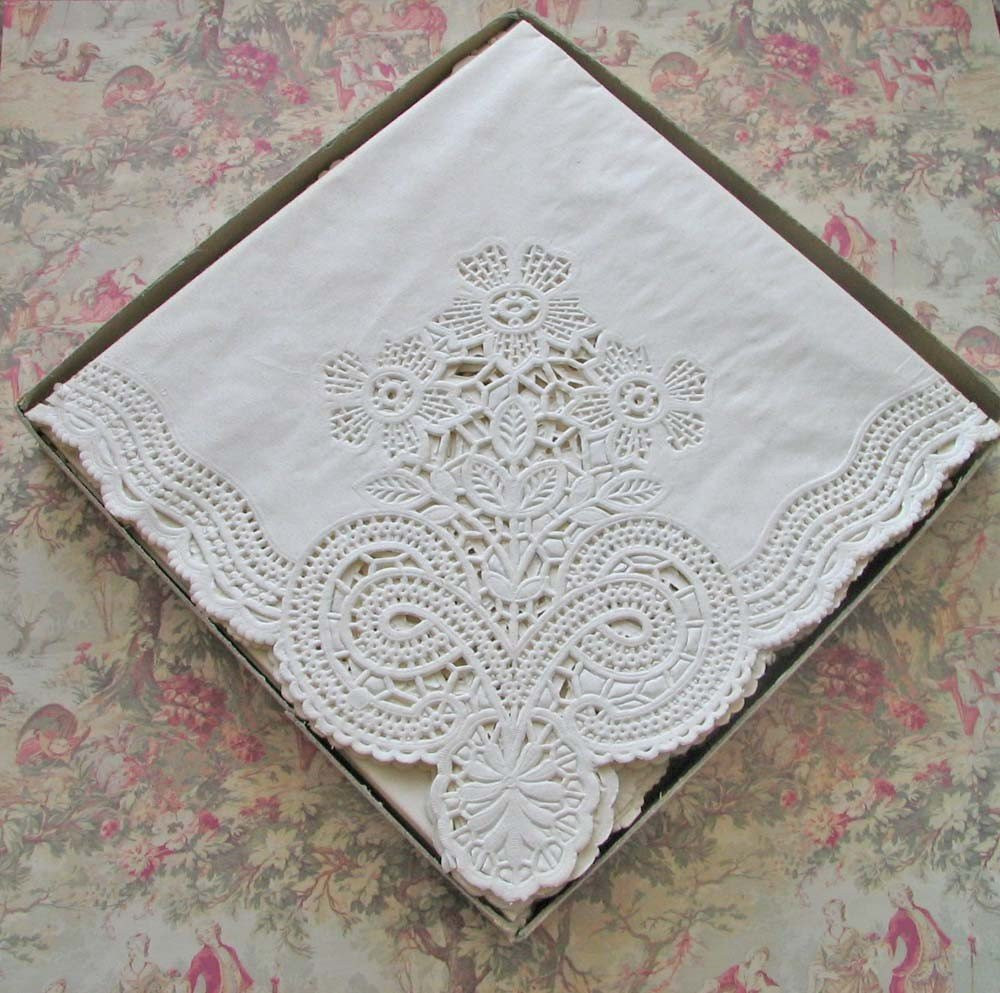 Lace Paper Napkins Fresh English Paper Lace Napkins by Exuberanthousewifery On Etsy Of Contemporary 49 Images Lace Paper Napkins