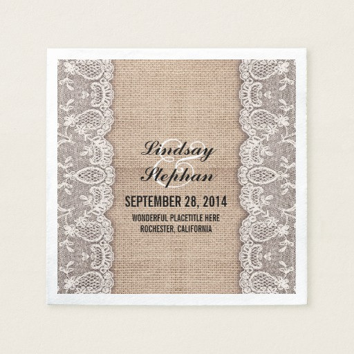 Lace Paper Napkins Inspirational Burlap & White Lace Beautiful Elegant Paper Napkin Of Contemporary 49 Images Lace Paper Napkins