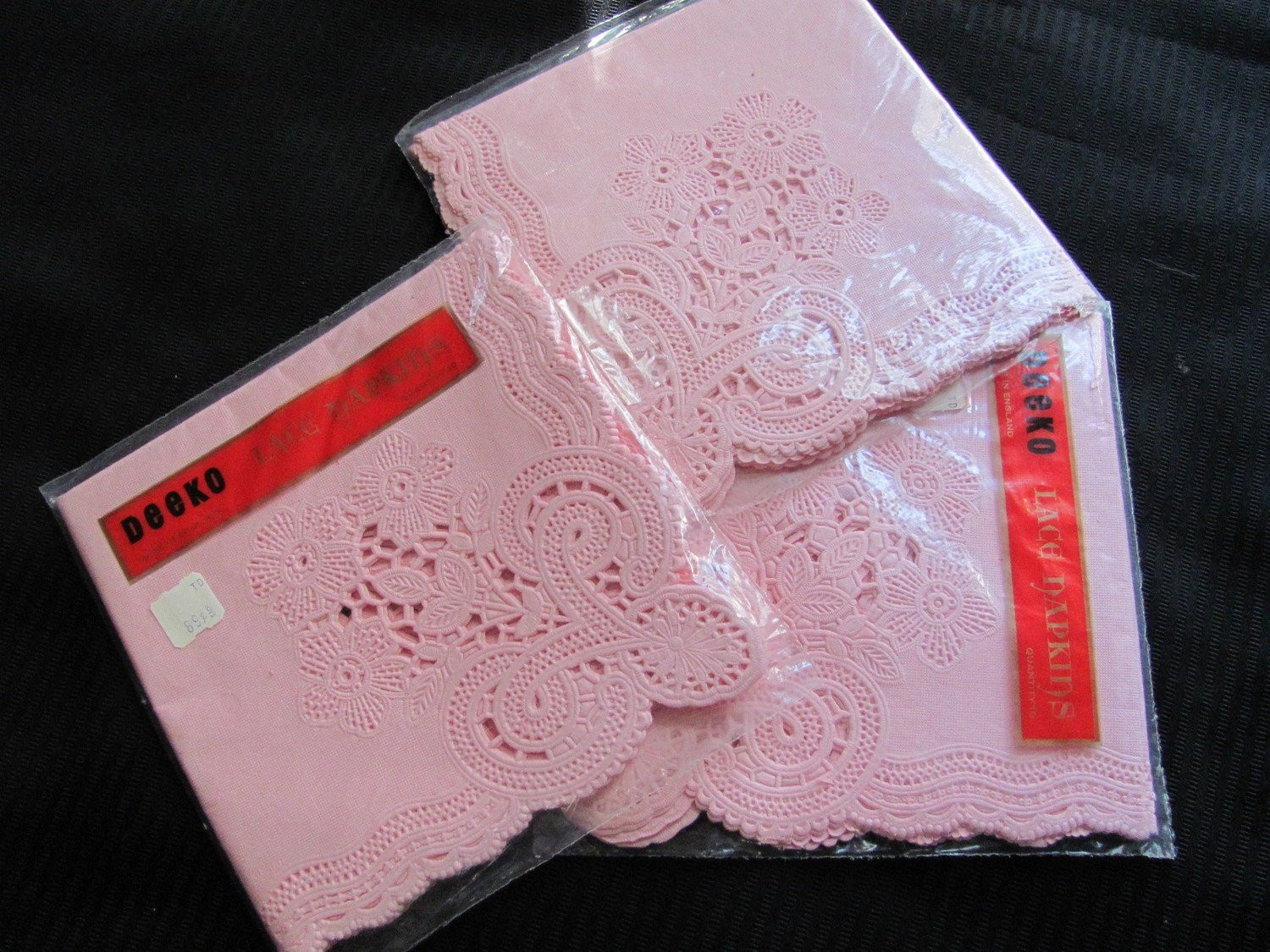 Lace Paper Napkins Luxury 3 Packages Of Pink Paper Lace Napkins Unused by Luvmetwotimes Of Contemporary 49 Images Lace Paper Napkins