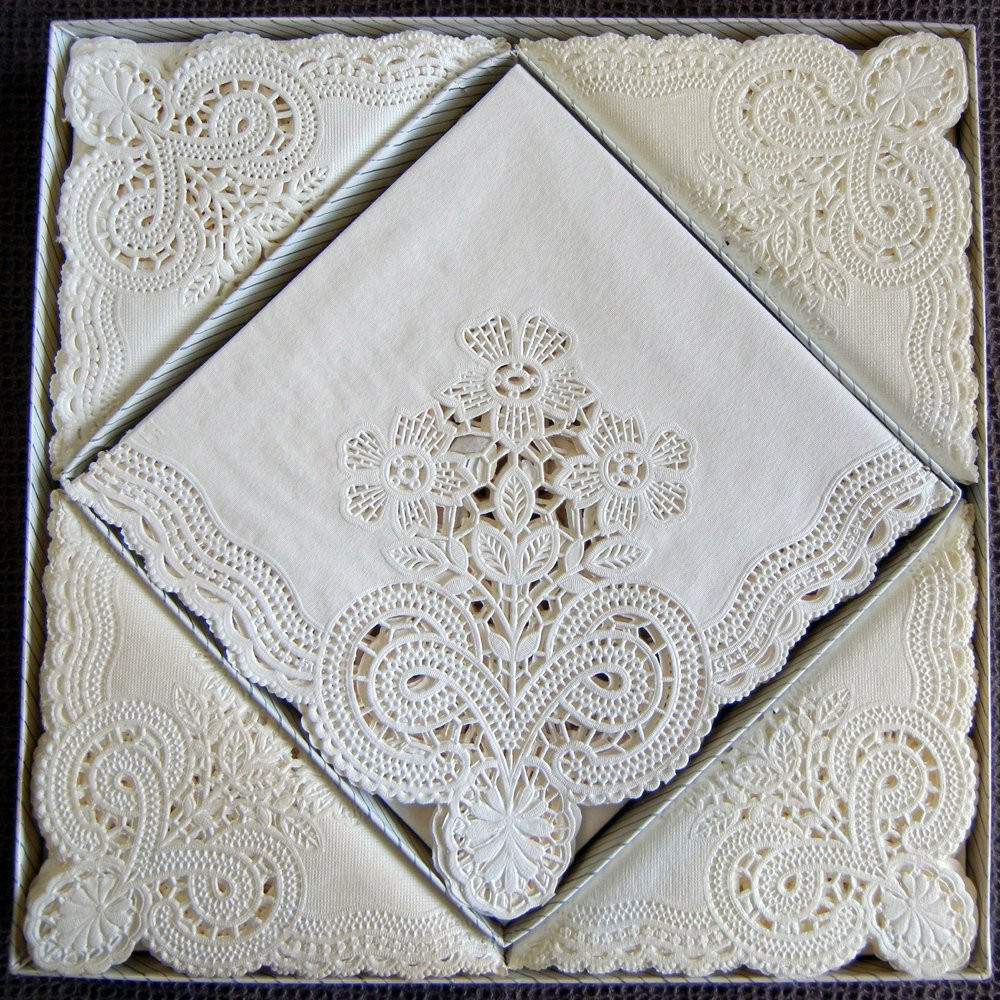 Lace Paper Napkins Unique 48 Devon Lace Paper Napkins by Freund Mayer Of Contemporary 49 Images Lace Paper Napkins