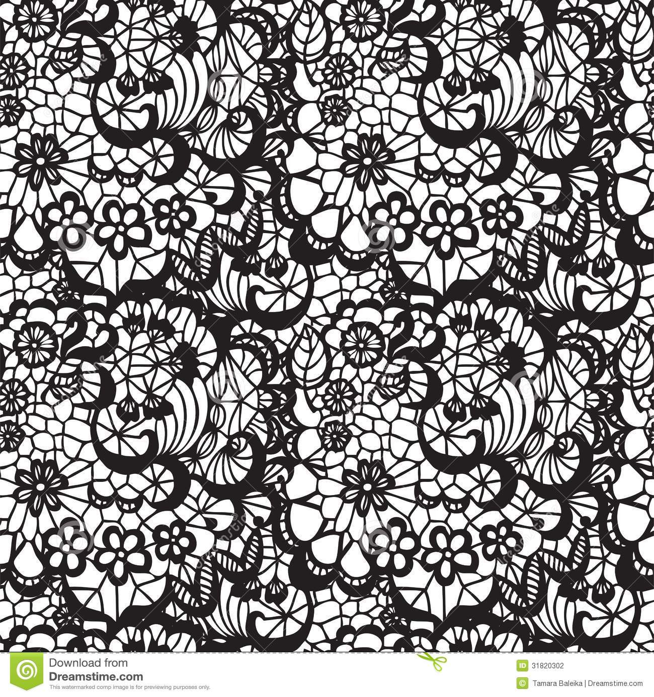 Lace Pattern Awesome Lace Seamless Pattern with Flowers Stock Vector Of Delightful 40 Images Lace Pattern