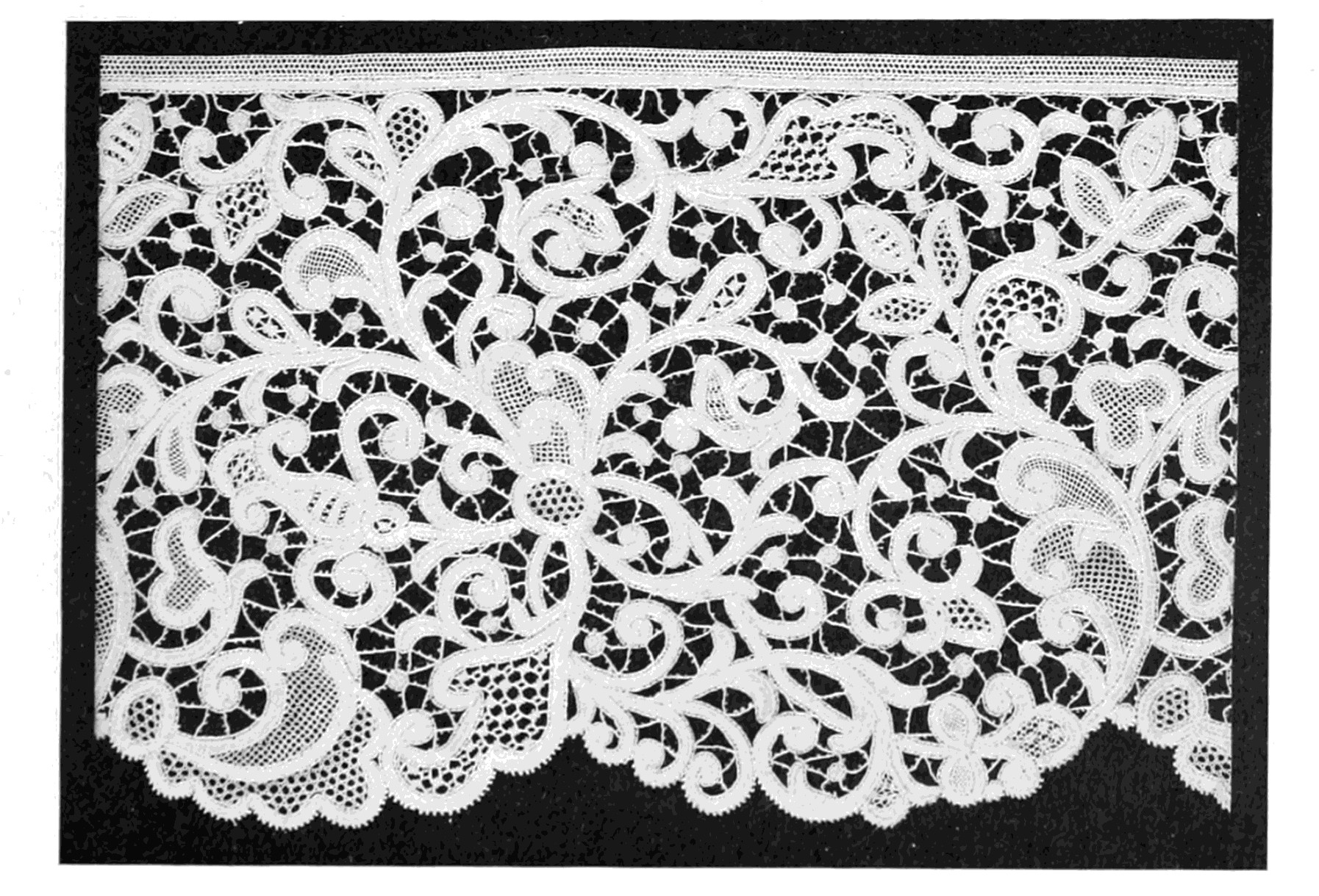 Lace Pattern Beautiful Lace Its origin and History by Samuel L Goldenberg 1904 Of Delightful 40 Images Lace Pattern