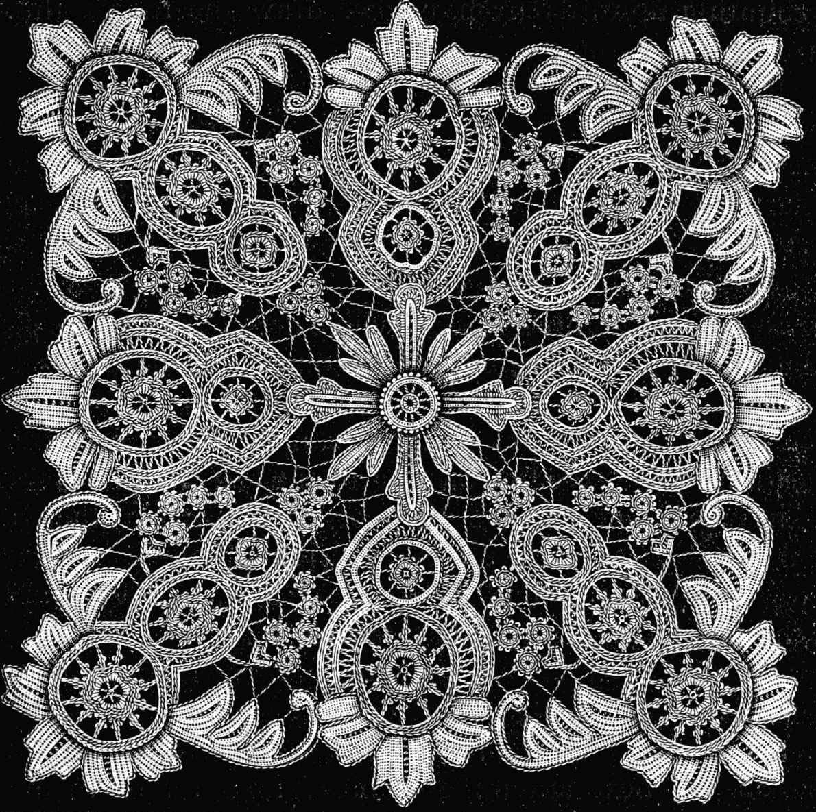 Lace Pattern Luxury Easy Knit Lace Pattern Of Delightful 40 Images Lace Pattern