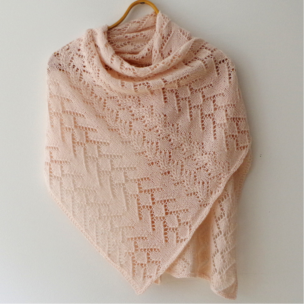 Lace Shawl Lovely Pattern From History – Lace with Cables – Pattern Duchess Of Top 45 Pictures Lace Shawl