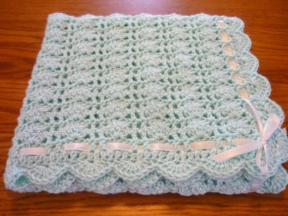 Lacy Baby Blanket Crochet Pattern Beautiful Crochet Baby Blanket Lacy Shell Stitch Baby Girl Baby Boy Of New 40 Images Lacy Baby Blanket Crochet Pattern