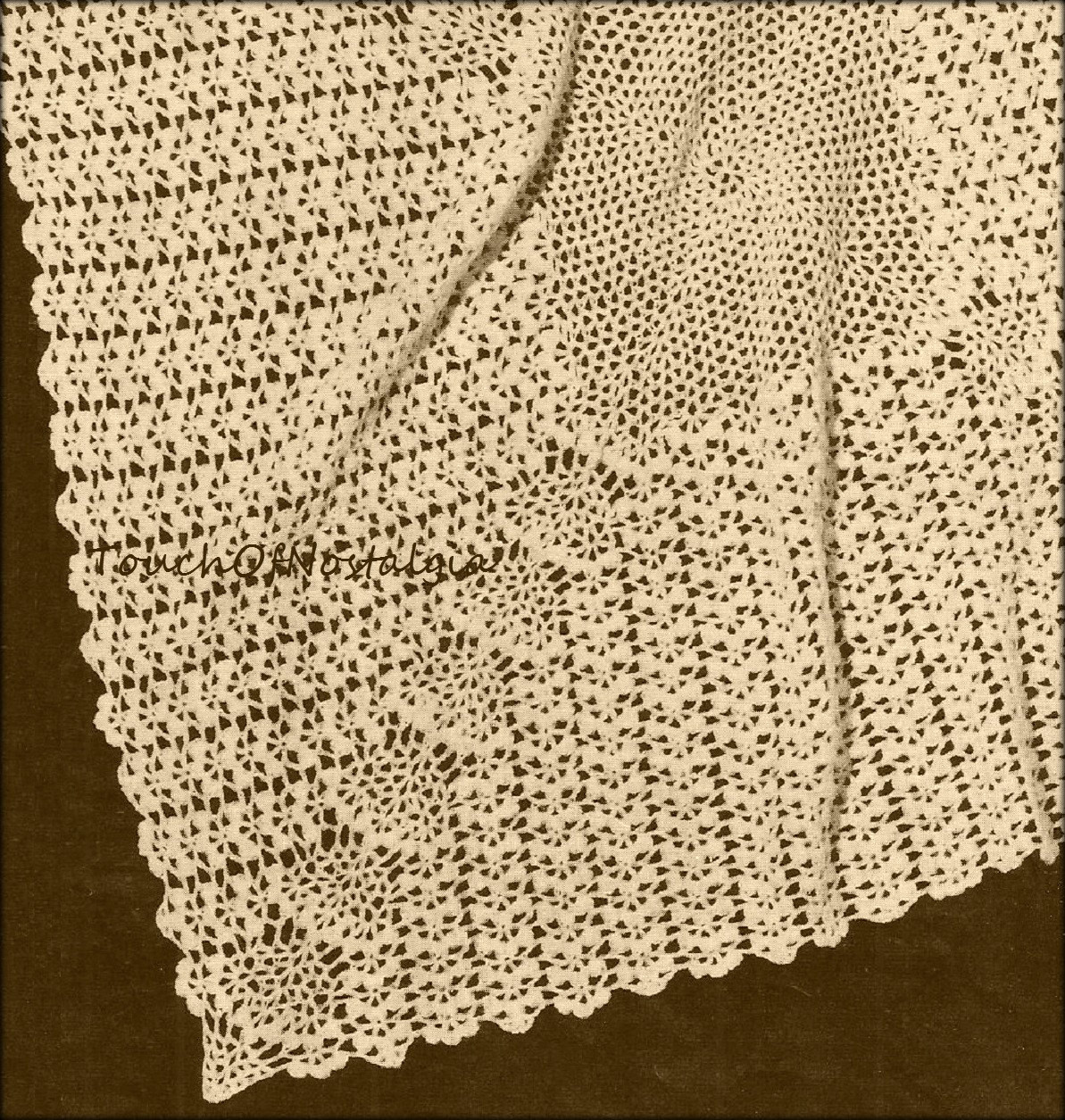Lacy Baby Blanket Crochet Pattern Elegant Crochet Lacy Baby Shawl Blanket Vintage Crochet Pattern Of New 40 Images Lacy Baby Blanket Crochet Pattern