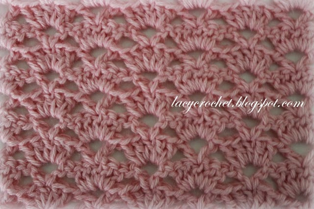 Lacy Baby Blanket Crochet Pattern Luxury Lacy Crochet Alternating Shells Crochet Stitch Of New 40 Images Lacy Baby Blanket Crochet Pattern