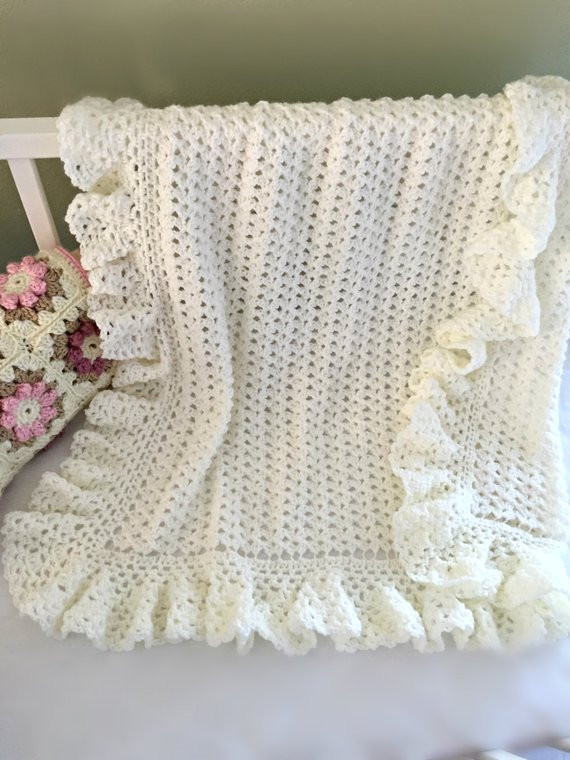 Lacy Baby Blanket Crochet Pattern Unique Crochet Baby Blanket Pattern Baby Blanket by Of New 40 Images Lacy Baby Blanket Crochet Pattern