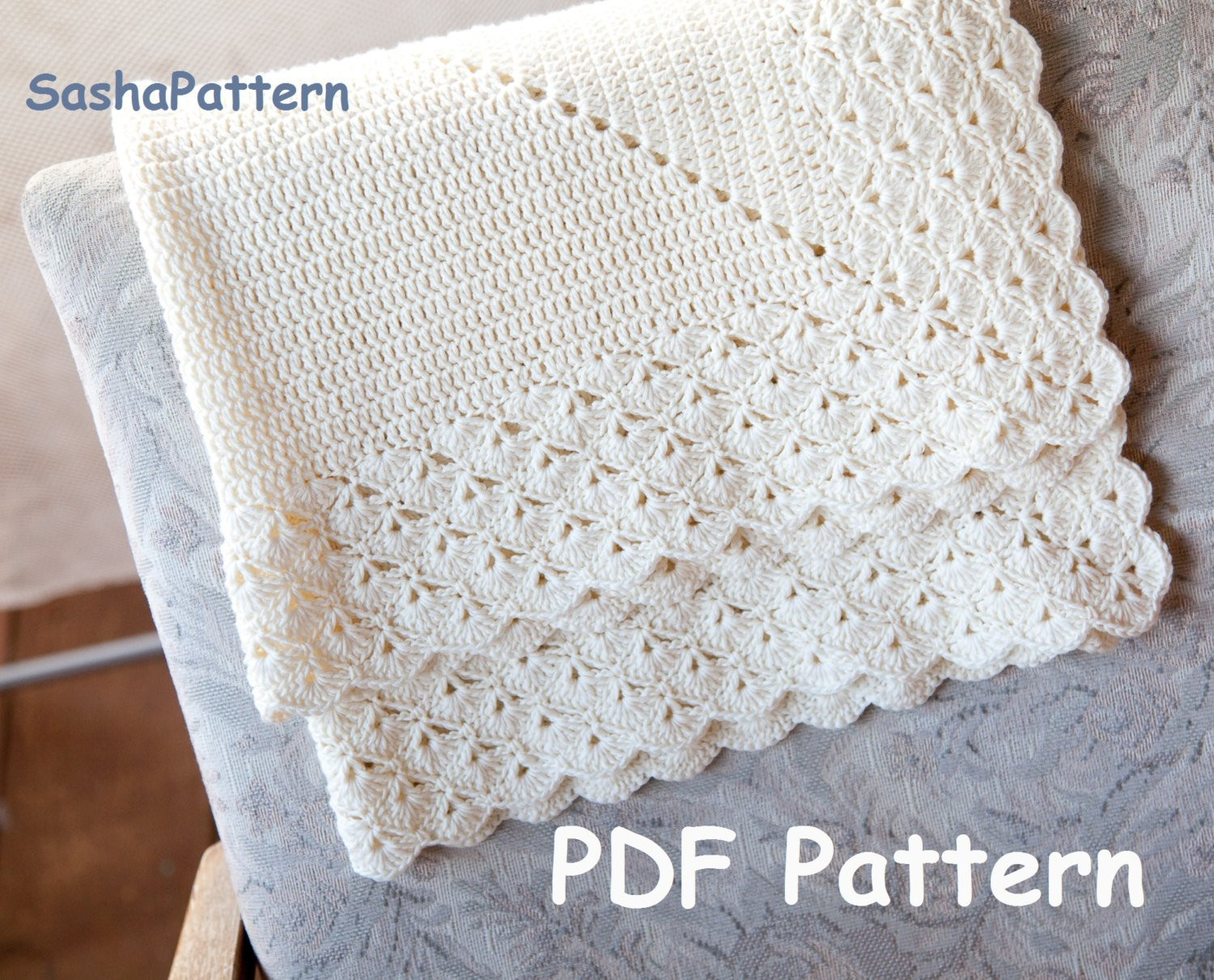 Lacy Crochet Baby Blanket Elegant Crochet Baby Blanket with Lacy Border Pattern – Square Of Top 48 Ideas Lacy Crochet Baby Blanket
