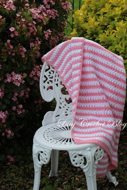 Lacy Crochet Baby Blanket Inspirational Lacy Crochet Garden Stripes Baby Blanket or Possibly Of Top 48 Ideas Lacy Crochet Baby Blanket