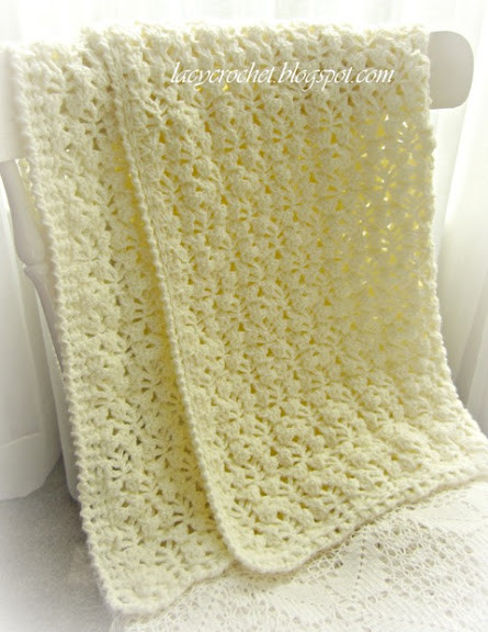 Lacy Crochet Baby Blanket Inspirational Lacy Crochet Pretty Lacy Stitch for A Baby Blanket Of Top 48 Ideas Lacy Crochet Baby Blanket
