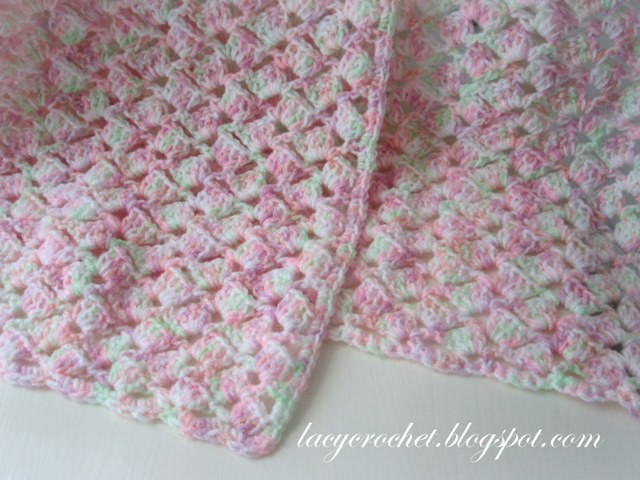 Lacy Crochet Baby Blanket New Lacy Crochet Summer Baby Blanket In Variegated Yarn Free Of Top 48 Ideas Lacy Crochet Baby Blanket