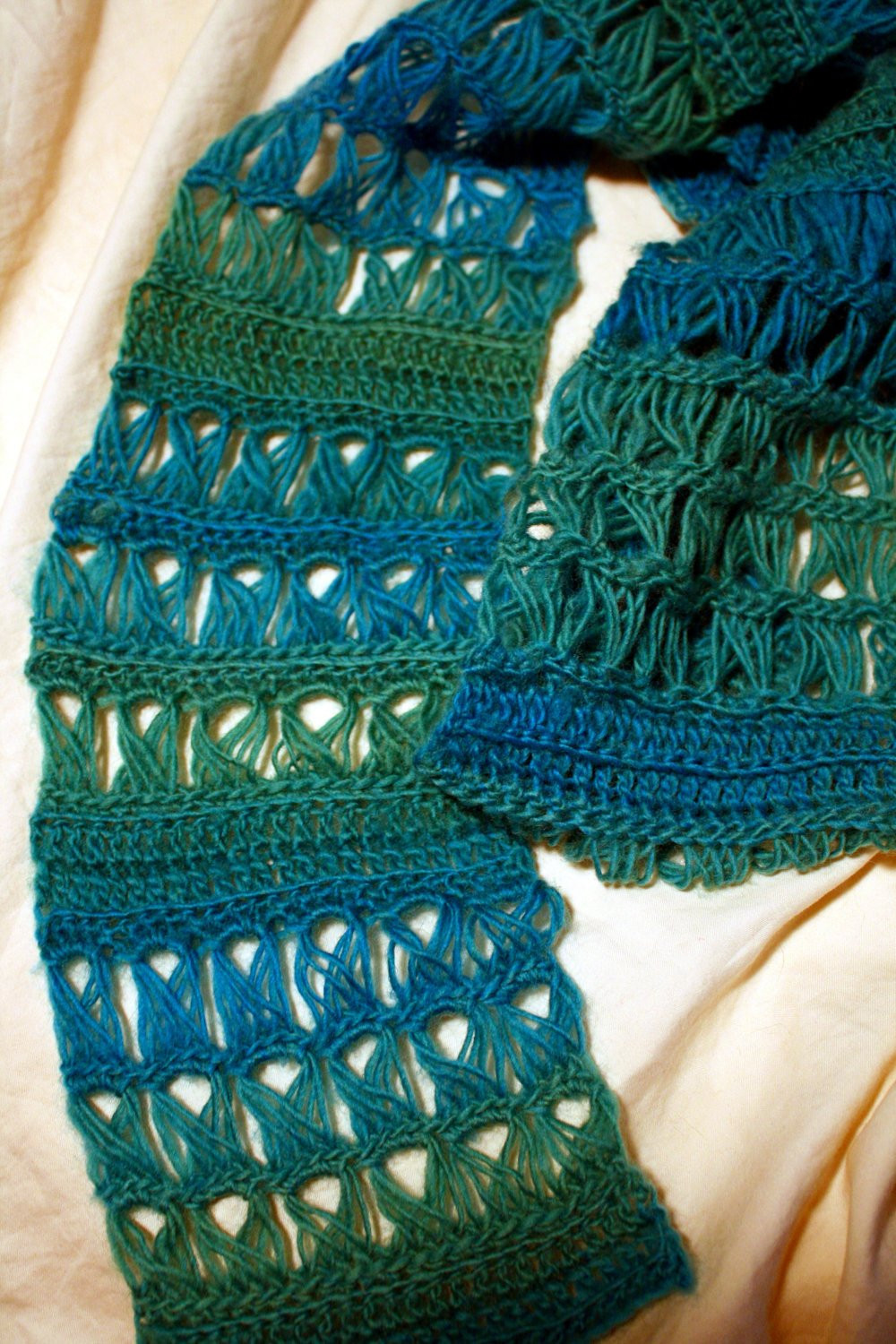 crochet pattern easy broomstick lace